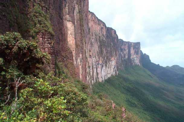 Steep Roraima